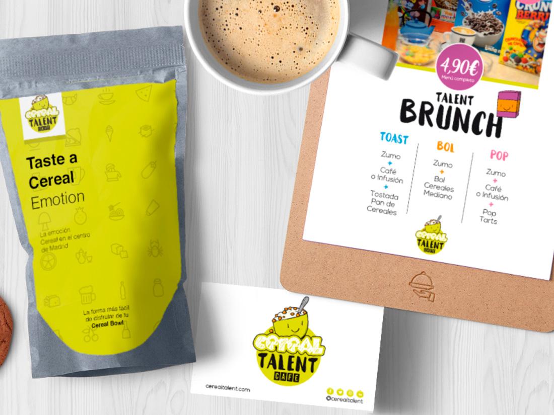 Diseño Packaging Alimenticio Cereales